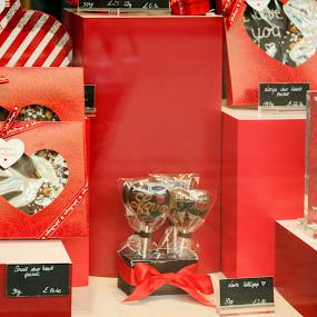 St. Valentine by Svetoslava Todorova - Food & Drink Candy & Dessert ( love, chocolate, red, wallpaper, valentine,  )