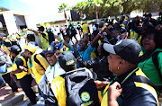Delegates to the 54th ANC Elective National Conference taking place in Nasrec, Johannesburg.