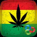Weed Rasta GO Launcher Theme icon
