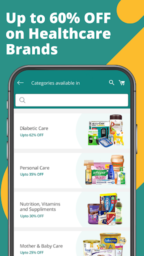PharmEasy – Online Medicine Ordering App screenshot for Android