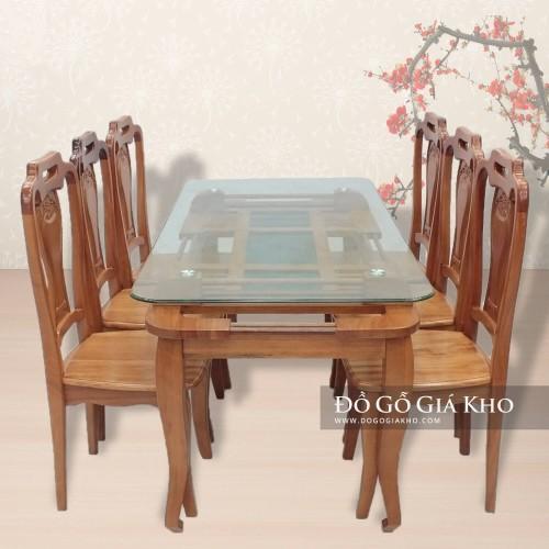 Bàn ăn gỗ Đinh Hương - BA035