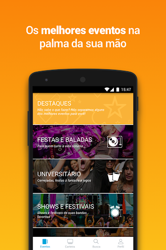 Ingresse - Ingressos e Eventos 3.2.3 Screenshots 1