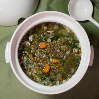 Italian Lentil Soup.