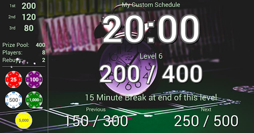 Blinds Are Up! Poker Timer filehippodl screenshot 3