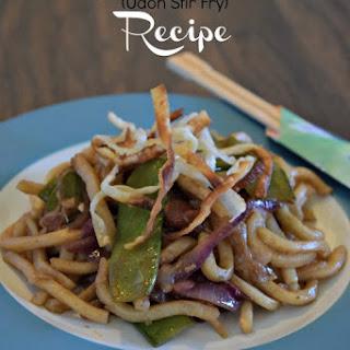 Yaki-Udon Recipe (Udon Stir Fry) #TookTheChallenge #JSLFoods