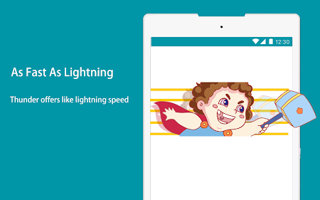 Thunder VPN - A Fast , Unlimited, Free VPN Proxy 2.4.3 screenshot 2092877