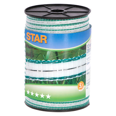 Elband Star 12 mm 200 Meter. 0,21 Ohm/m