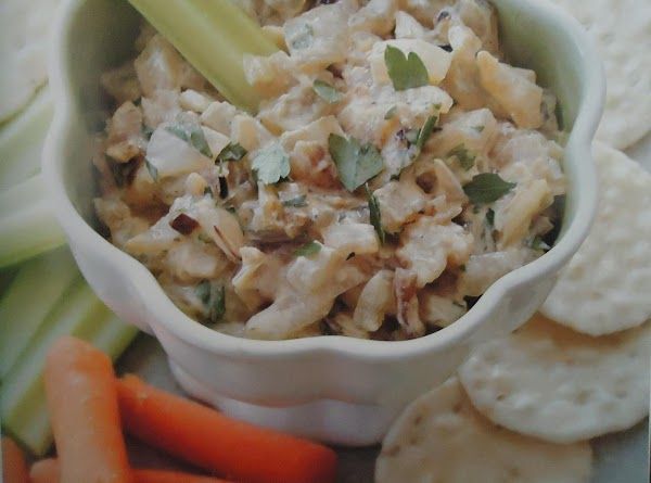 Low Calorie, Gluten-free Roasted Onion Dip Recipe