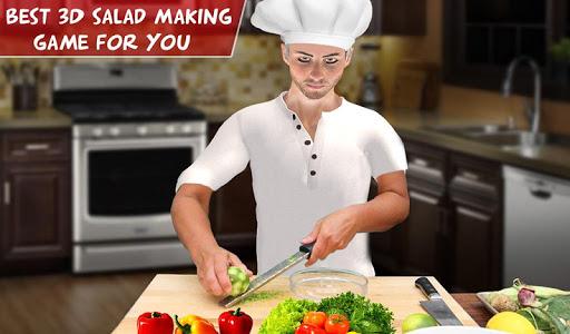 Virtual Chef Cooking Game 3D: Super Chef Kitchen apkdebit screenshots 16