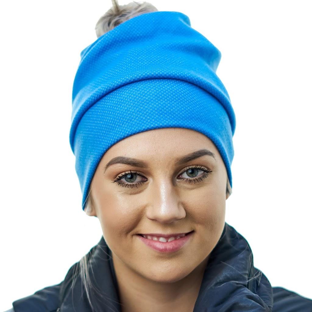 Girl wearing Merino Toque