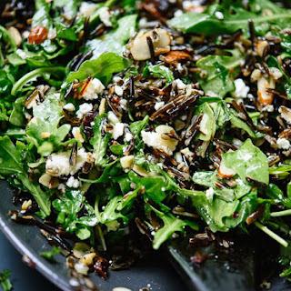 Arugula, Dried Cherry and Wild Rice Salad.