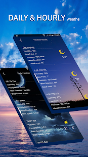 weather forecast app - náhled