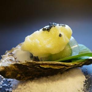 Oyster Cucumber Sorbet