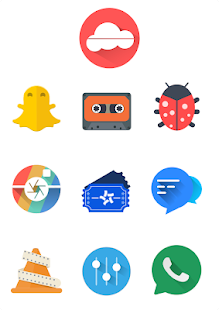 Oranchelo icon pack Screenshot