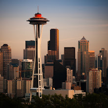 Photo: Seattle²  I'm excited to go back to Seattle this summer. Not sure of the details yet but one thing I'm looking forward to is watching the Angels beat up on the Mariners a couple times. I might have to get some shots of the Space Needle with its new roof color.