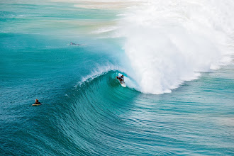 Photo: Damien Hobgood in a quintessential Kirra barrel now threatened by development. Check the #SurferMag site for info on a proposed cruise ship terminal. Photo: Swilly #SaveKirra
