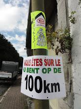 Photo: Wandelen op de 100 km des 5 Clochers
