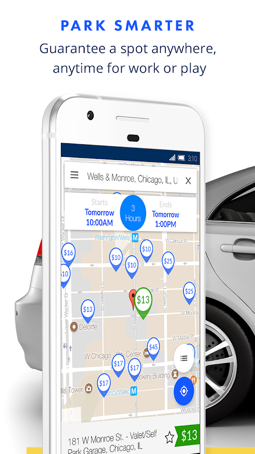 SpotHero: Find Parking Nearby- screenshot