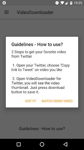 Video Downloader for Twitter 2.5.5 screenshots 2