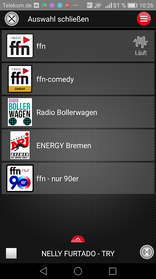 radio ffn- screenshot