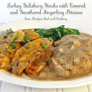 Easy Turkey Salisbury Steaks.