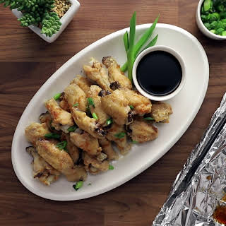 Crispy Asian Chicken Wings.