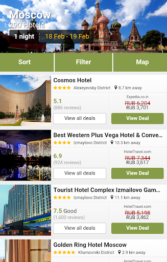 Moscow Hotels Deals