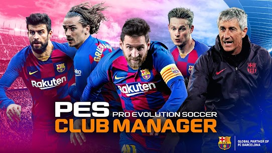 PES CLUB MANAGER MOD APK (Unlimited Money) 1
