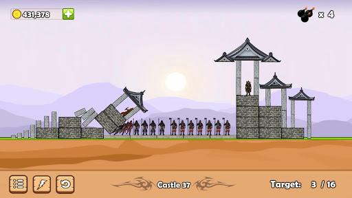 Télécharger Castle Down: Siege of the Catapult APK MOD (Astuce) screenshots 1