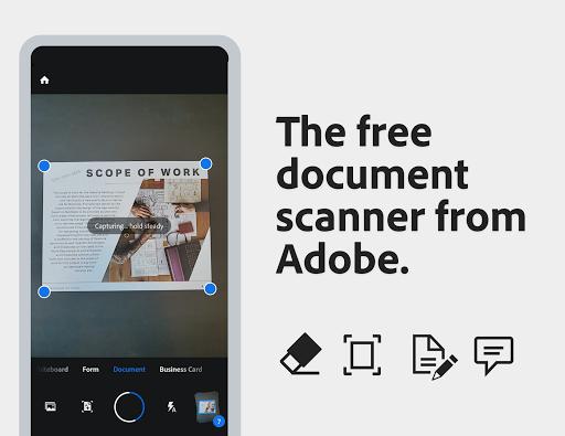 Adobe Scan: PDF Scanner with OCR, PDF Creator 20.09.02-regular screenshots 1