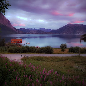 My View by Elisabeth Sjåvik Monsen - Landscapes Waterscapes ( summer, arctic, seascape, coastline, evening, coast, norway )