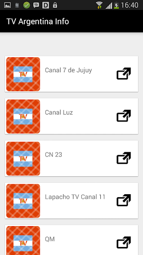TV Argentina New Channels