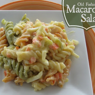 Old Fashioned Macaroni Salad
