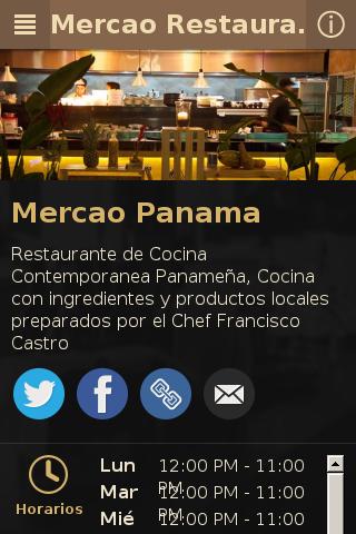 Mercao Restaurante Panamá