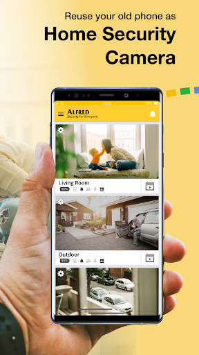 Alfred Home Security Camera 3.16.3 (build 1692) screenshots 2
