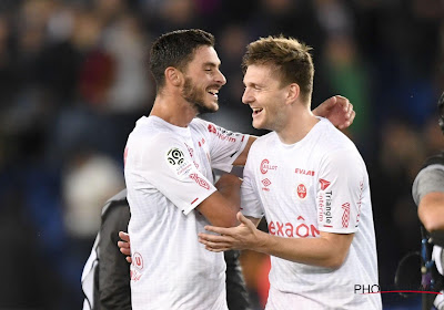 Thomas Foket won woensdag met Reims op het veld van PSG