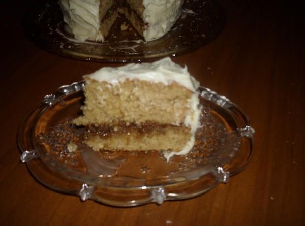 Warm Vanilla Cinnamon Cake Recipe