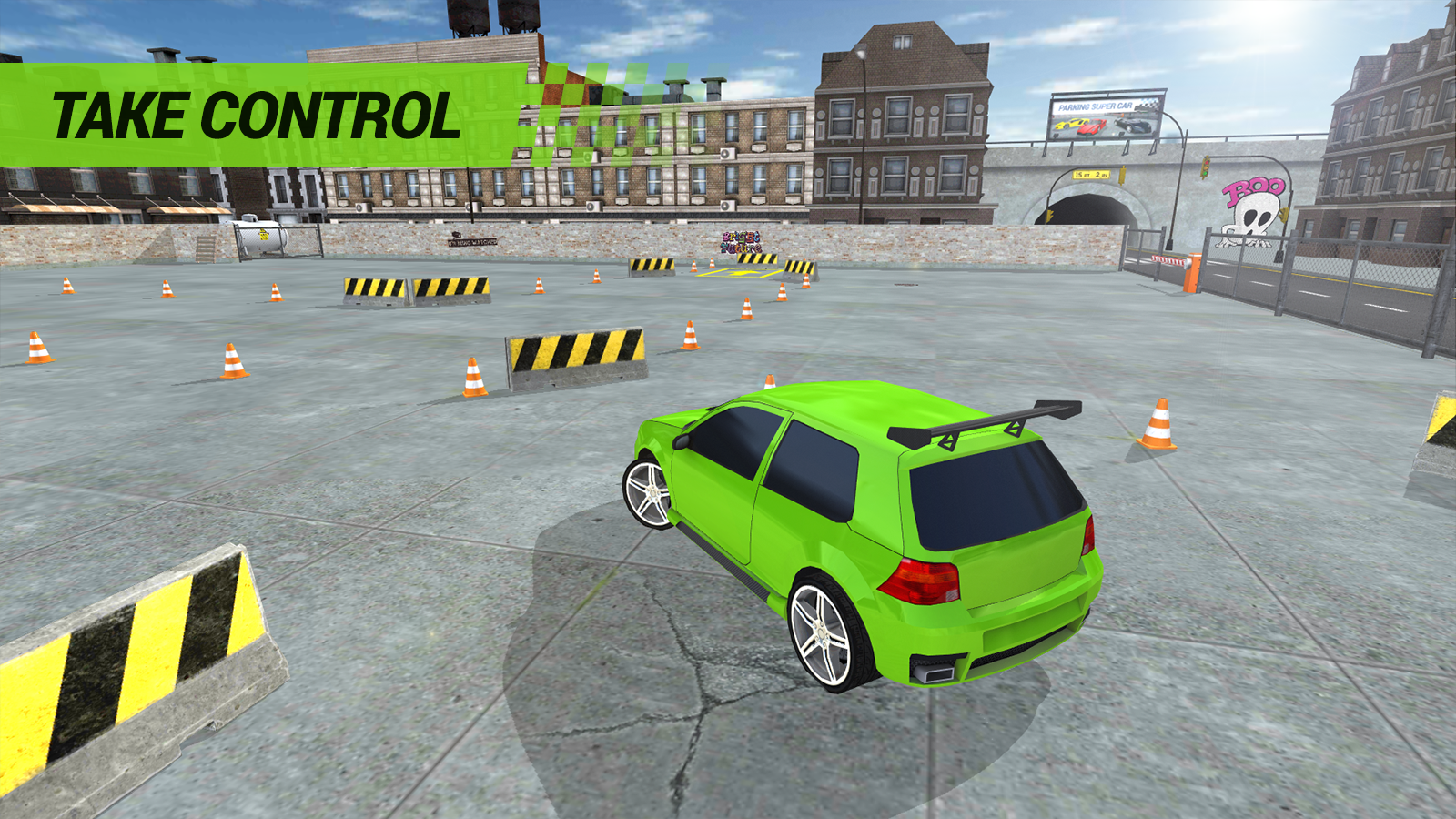 PARKING SPEED CAR- screenshot