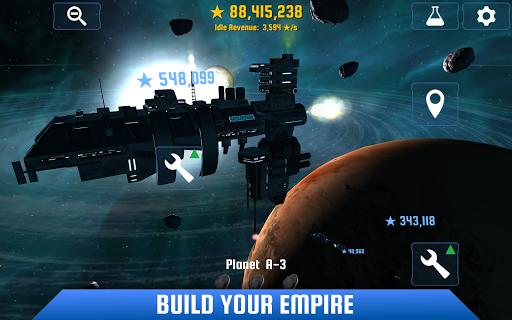 Idle Galaxy Miner 2.5 screenshots 1