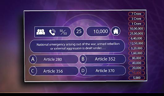 KBC Play Along - KBC Quiz Game Hindi-English - Apps on