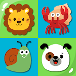 MemoKids: Toddler games free. Memotest, adhd games icon
