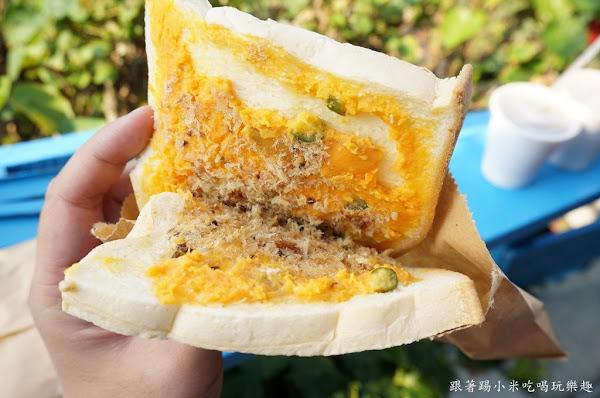 阿力給早餐-當地特式口味三明治早起的鳥兒才吃得到~(飛魚三明治/飛魚飯糰/紅頭部落)
