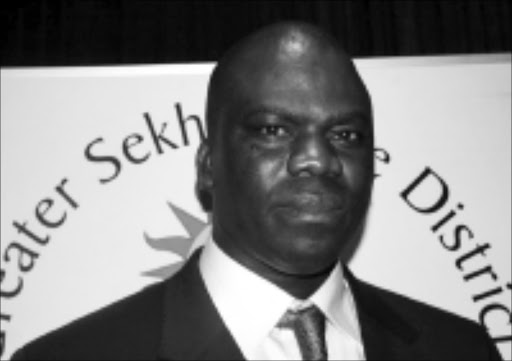 AT THE HELM: David Mohabe has been appointed executive mayor of the Sekhukhune district municipality. 10/03/09. © Sowetan.