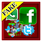 Fake Social Media Messenger