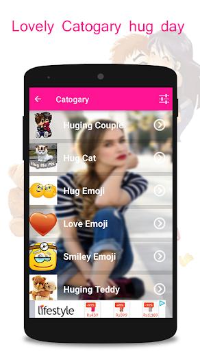 Hug Me Love Stickers & valentineday emoji 1.4 screenshots 1