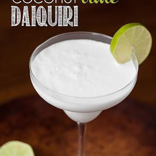 Coconut Lime Daquiri.