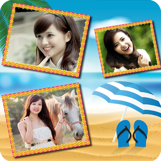Summer Photo Frame Icon
