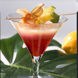 Tropical Whiskey Cocktail.