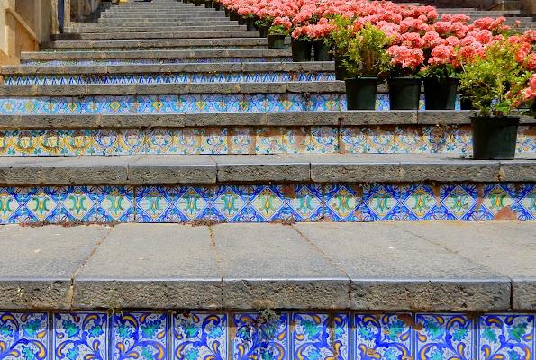 Caltagirone - scala in ceramica di provenza
