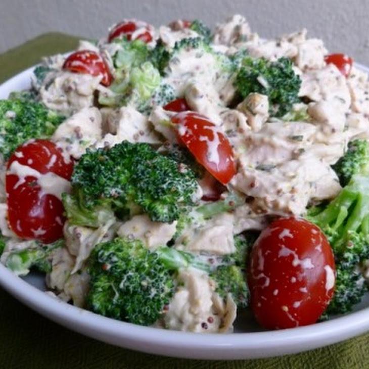Barefoot Contessa Mustard Chicken Salad